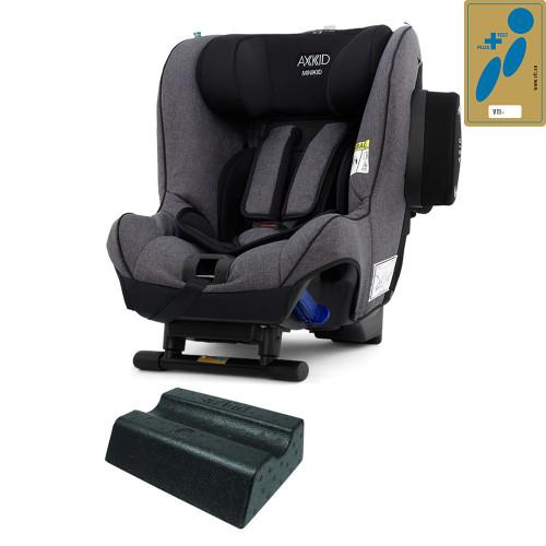 Axkid Minikid 2.0 Car Seat + FREE Angle Adjusting Wedge - Granite Melange Premium