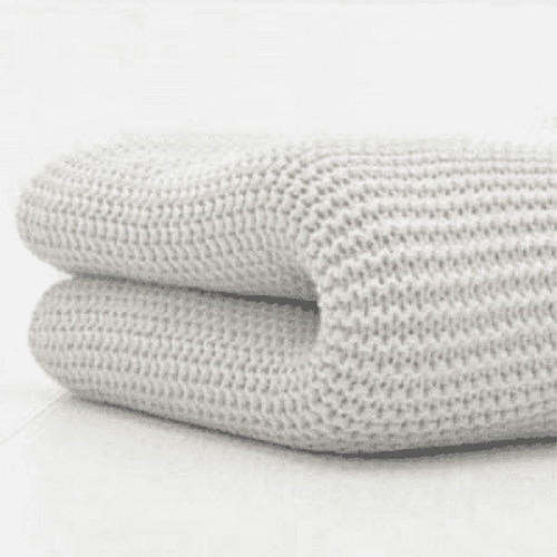 Cuddles Collection Cotbed Cellular Blanket - Grey