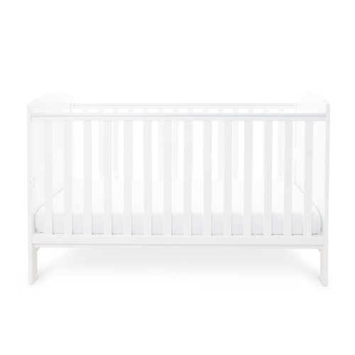 Ickle Bubba Coleby Cot Bed - White