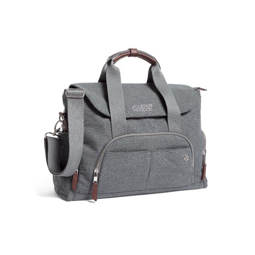 Mamas & Papas Bowling Changing Bag - Grey Mist