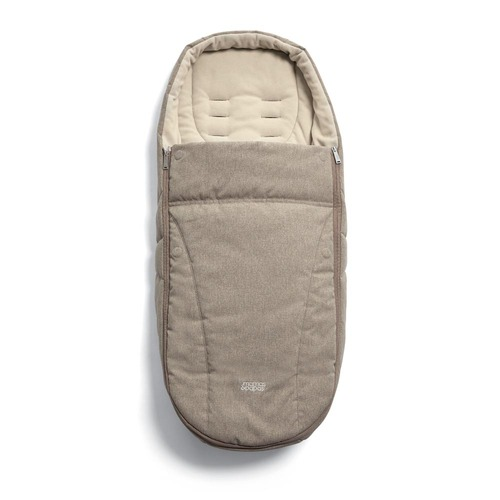 Mamas & Papas Ocarro Cold Weather Footmuff - Cashmere