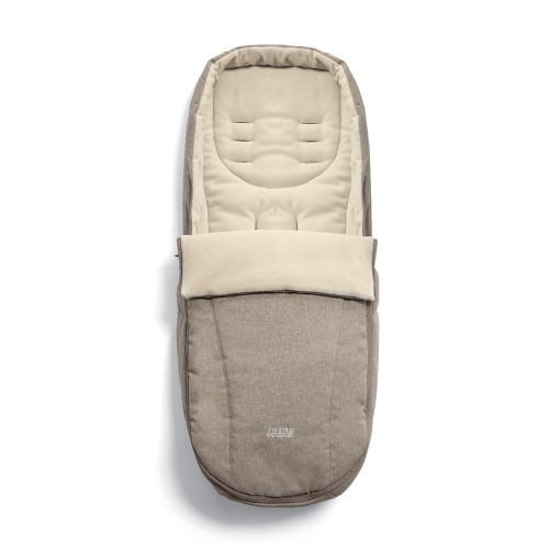 Mamas & Papas Ocarro Cold Weather Footmuff - Cashmere (unzipped)