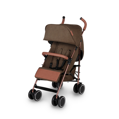 Ickle Bubba Discovery Max Stroller - Khaki/Rose Gold