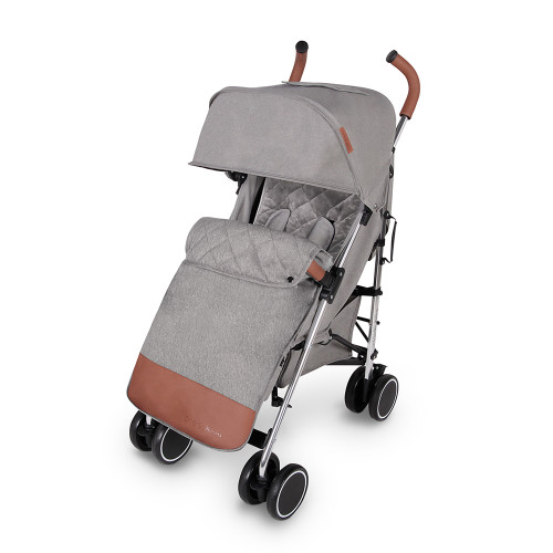 Ickle Bubba Discovery Max Stroller - Grey/Silver