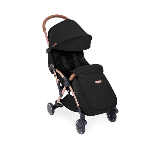 Ickle Bubba Globe Max Stroller - Black/Rose Gold