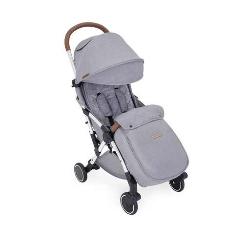 Ickle Bubba Globe Max Stroller - Grey/Silver
