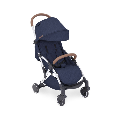 Ickle Bubba Globe Max Stroller - Denim Blue/Silver