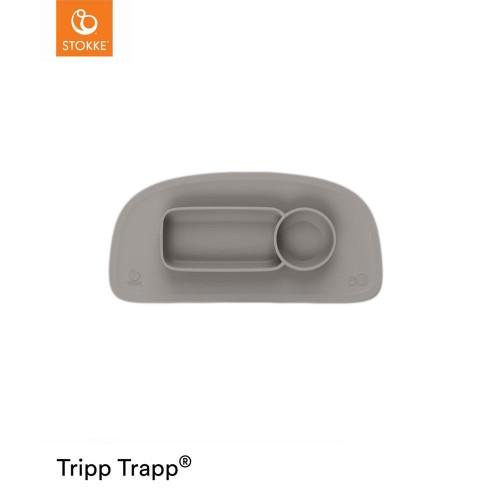 Stokke® Tripp Trapp® EZPZ™ Placemat V2 - Soft Grey