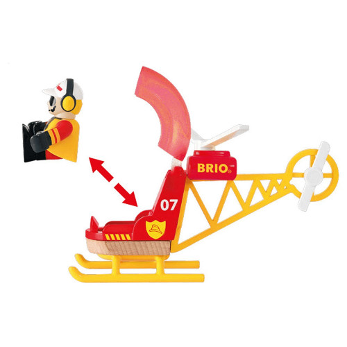 Brio Firefighting Helicopter