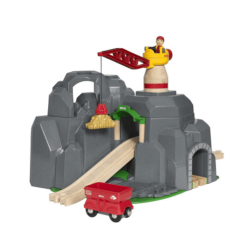 Brio Crane and Mountain Tunnel