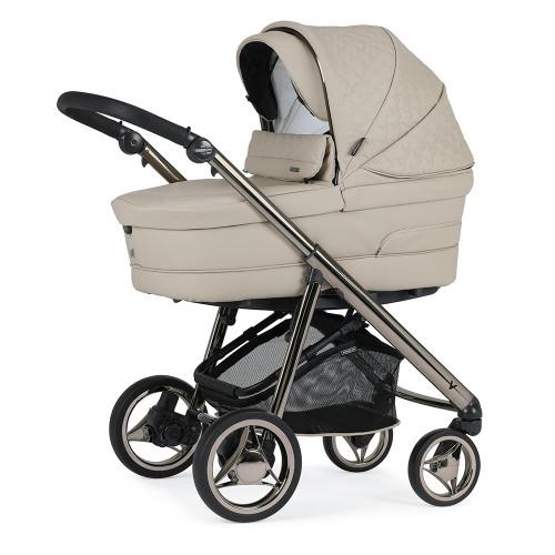 Bebecar V-Pack + Lie Flat Car Seat, LA3 Kit & Raincover - Latte (053)