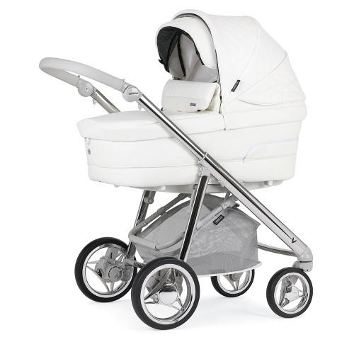 Bebecar V-Pack + Car Seat, LA3 Kit & Raincover - Porcelain (050)