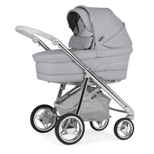 Bebecar V-Pack + Lie Flat Car Seat, LA3 Kit & Raincover - Pebble (051)