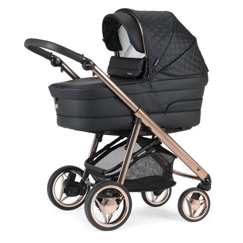 Bebecar V-Pack + Car Seat, LA3 Kit & Raincover - Rose Black (056)
