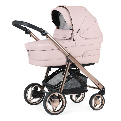 Bebecar V-Pack + Car Seat, LA3 Kit & Raincover - Pink Opal (057)