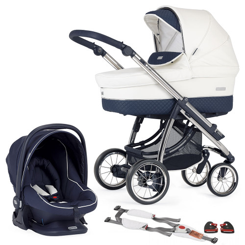Bebecar Pack Ip-Op Classic XL + Car Seat, LA3 Kit - Oceanic (006)