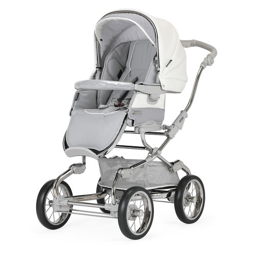 Bebecar Pack Stylo XL + Car Seat, LA3 Kit & Raincover - Dove Grey (007)