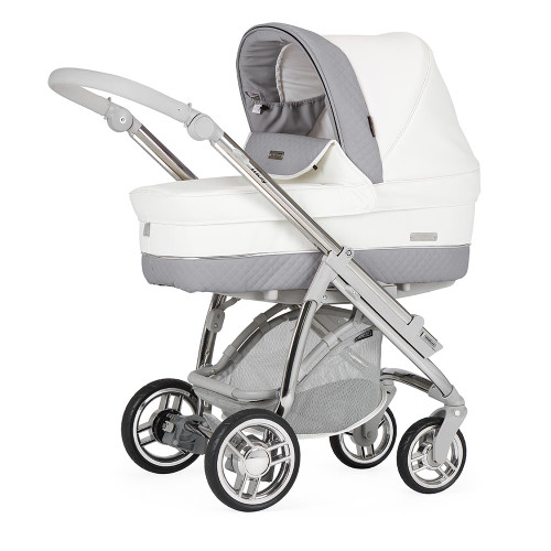 Bebecar Pack M-City + Car Seat & Raincover - Dove Grey (007)