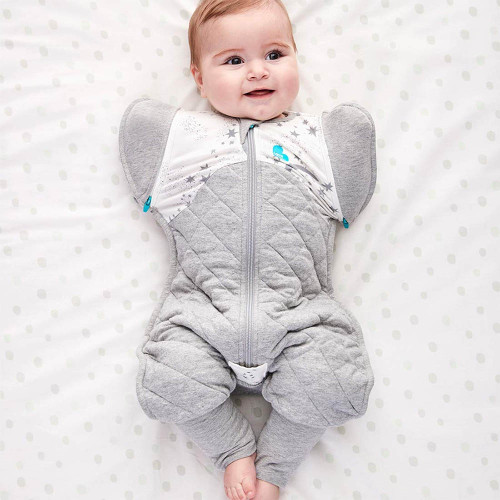 Love To Dream Swaddle UP 50/50 Transition Suit Warm 2.5 TOG / White / L