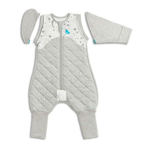 Love To Dream Swaddle UP 50/50 Transition Suit Warm 2.5 TOG / White / M