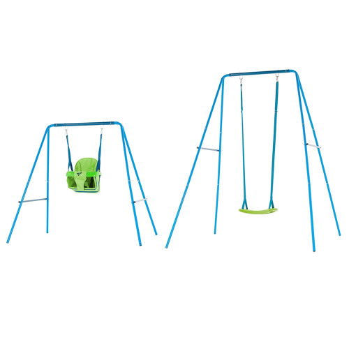TP Toys Small To Tall Metal Swing Set