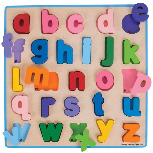 Bigjigs Lowercase Chunky Alphabet Puzzle