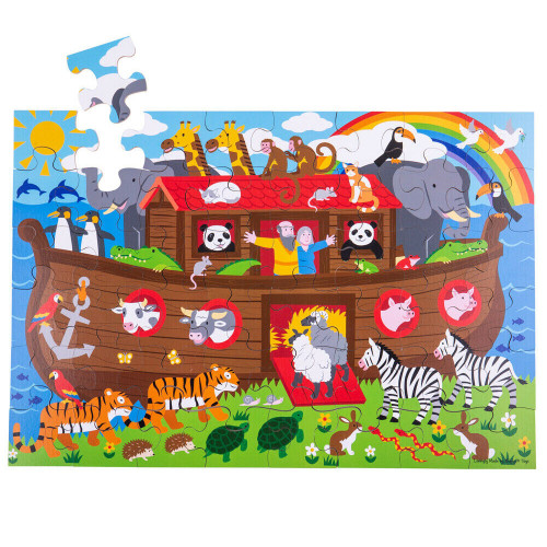 Bigjigs Noah's Ark Floor Puzzle (48 piece)