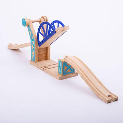 Bigjigs Blue Suspension Bridge