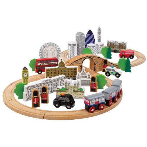 Tidlo City Of London Train Set
