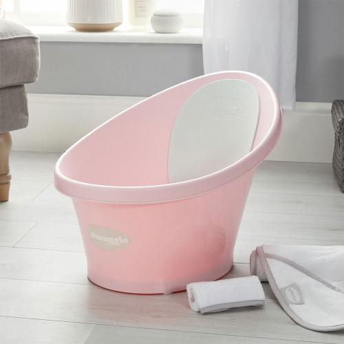 Shnuggle Baby Bath With Plug - Rose