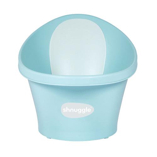 Shnuggle Baby Bath With Plug - Aqua