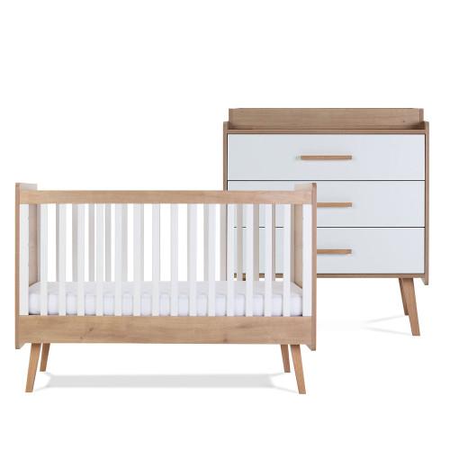 Silver Cross Westport Room Set - Cot Bed & Dresser