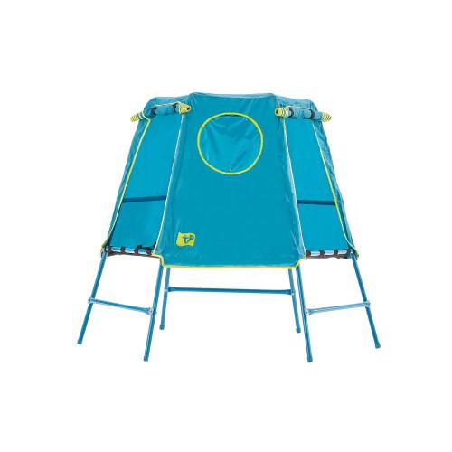 TP Toys Explorer Climbing Frame and Den Set - Blue/Apple Green