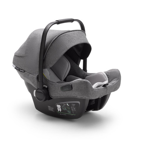 Bugaboo Turtle Air Car Seat by Nuna - Grey Melange