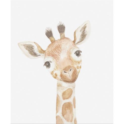 Mamas & Papas Welcome to the World Wall Art - Giraffe