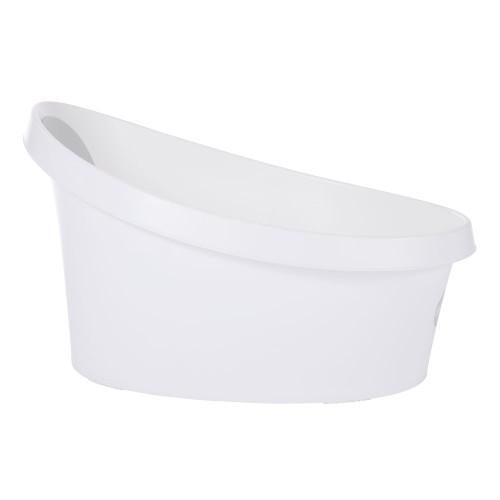 Shnuggle Toddler Bath - White/Grey