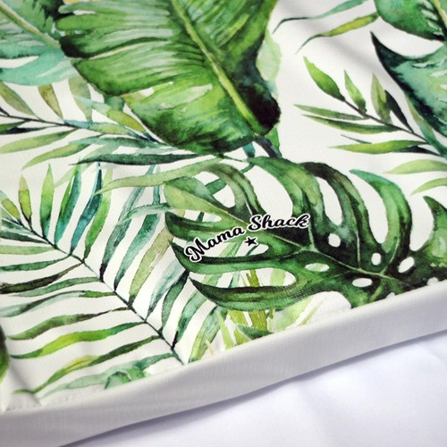 Mama Shack Wedge Changing Mat - Banana Leaf