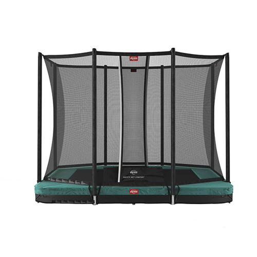 BERG Ultim Favorit InGround 280 + Safety Net Comfort - Green