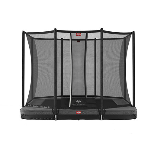 BERG Ultim Favorit InGround 280 + Safety Net Comfort - Grey