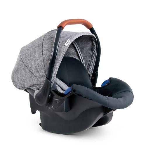 Hauck Comfort Fix Car Seat - Melange Grey