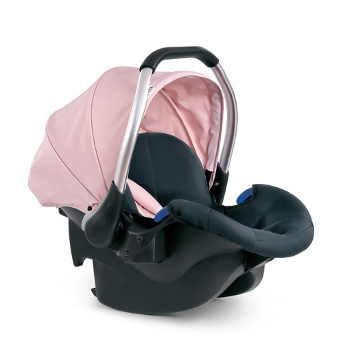 Hauck Comfort Fix Car Seat - Pink/Grey