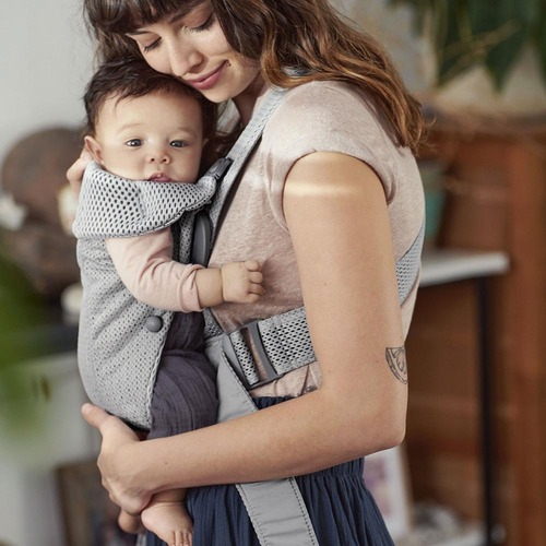Babybjorn Baby Carrier Mini 3D Mesh - Grey