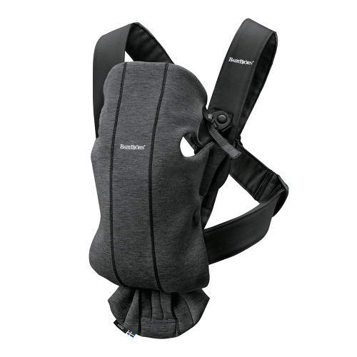 Babybjorn Baby Carrier Mini 3D Jersey - Charcoal Grey