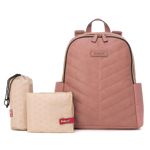 Babymel Gabby Backpack - Dusty Pink