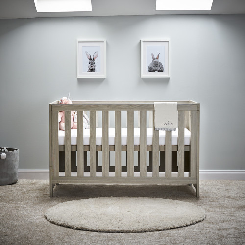 Obaby Nika 2 Piece Room Set - Grey Wash