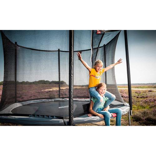 BERG Favorit 330 Trampoline + Safety Net Comfort - Grey