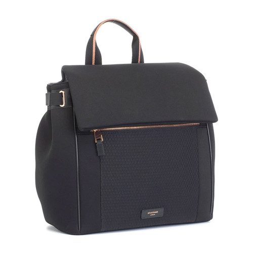 Storksak St James Convertible Backpack - Scuba Black