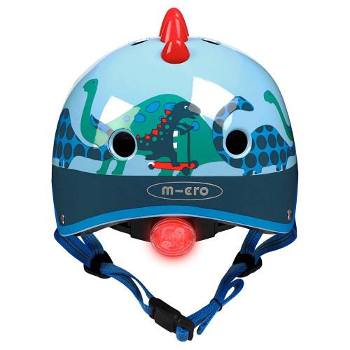 Micro 3D Deluxe Small Helmet - Scootersaurus