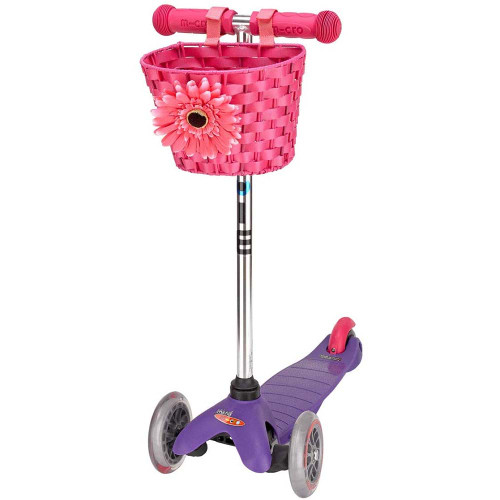 Micro Scooter Basket - Pink