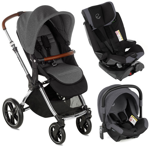 Jane Kawai Groowy Nest Travel System - Jet Black